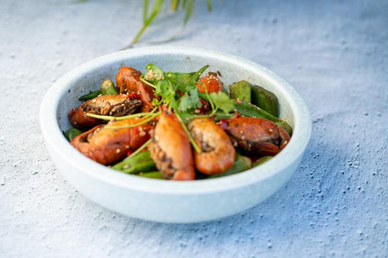 Sichuan spicy crayfish